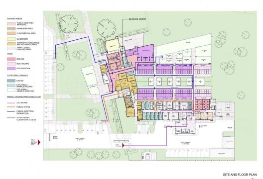 Animal Shelter Floor Plans on Long Term Facility Floor Plan