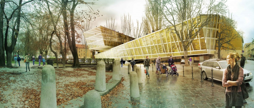 National and University Library NUK II Proposal / Kamvari Architects