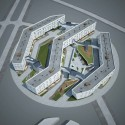 Block No.5 Residential Area in &#039;Skolkovo&#039; Innovative Center (2) Courtesy of TOTEMENT | PAPER