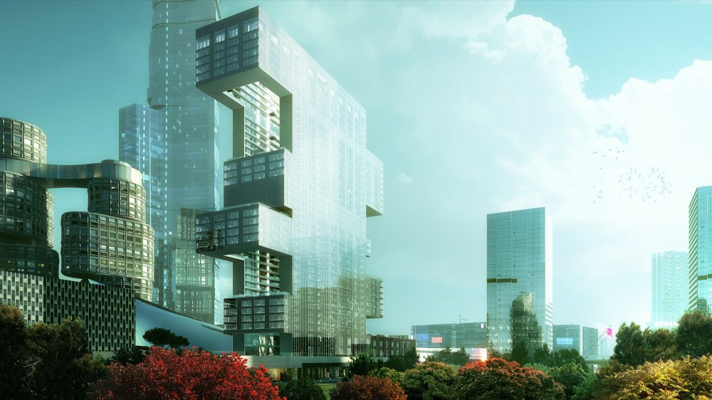 Yongsan International Business District &#8216;Project 6&#8242; / REX