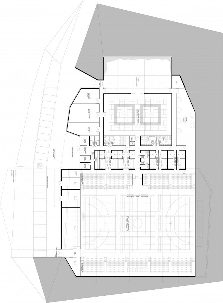 Gymnasium 'Palais des sports de Loudéac' (6) plan 02