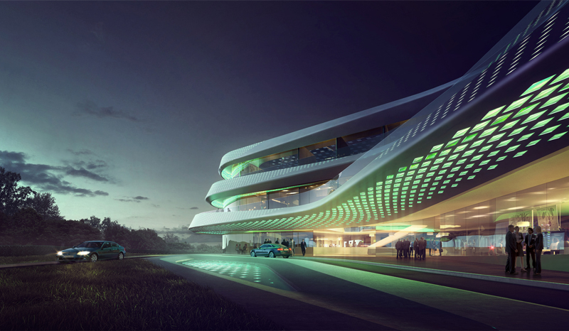 Green Climate Fund Headquarters / LAVA