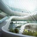 Sede Fondo Verde Climático (3) del atrio en la entrada principal - © MIR