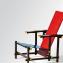 Red-Blue Chair, Gerrit Rietveld, 1918/1923  VG Bild-Kunst, Bonn 2012, Photo: Andreas Sutterlin