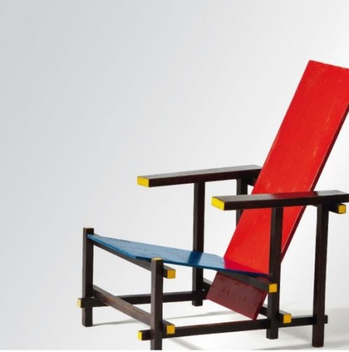 Red-Blue Chair, Gerrit Rietveld, 1918/1923 © VG Bild-Kunst, Bonn 2012, Photo: Andreas Sutterlin