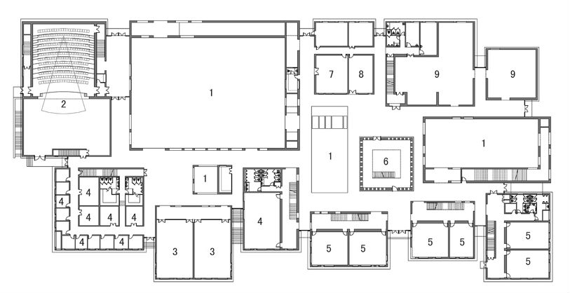 Architecture Photography 1st Floor Plan 238024