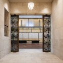 The Barnes Foundation Building / Tod Williams + Billie Tsien (25) Gallery Doors (open), looking toward the Court. The Barnes Foundation, Philadelphia.  2012 Tom Crane