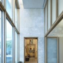 The Barnes Foundation Building / Tod Williams + Billie Tsien (17) Looking east through Room 9 to Room 8. The Barnes Foundation, Philadelphia.  2012 The Barnes Foundation