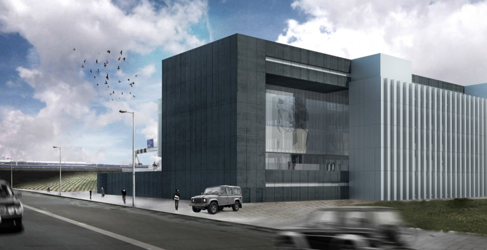 Construction begins on OMA-designed G-Star RAW Headquarters