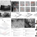 Finalists of the 100 Mile House Competition (3) Courtesy of the Architectural Foundation of British Columbia