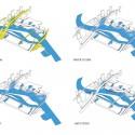 """""""El agua, la memoria '- Propuesta de Replanteamiento de la competencia de Shanghai (13) programa de diagrama de"""