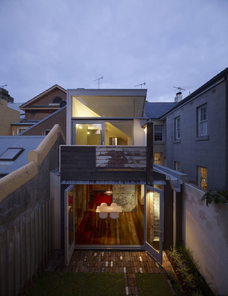 Fitzroy Terrace / Welsh & Major Architects