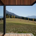 Lake Hawea Courtyard House / Glamuzina Paterson Architects © Samuel Hartnett