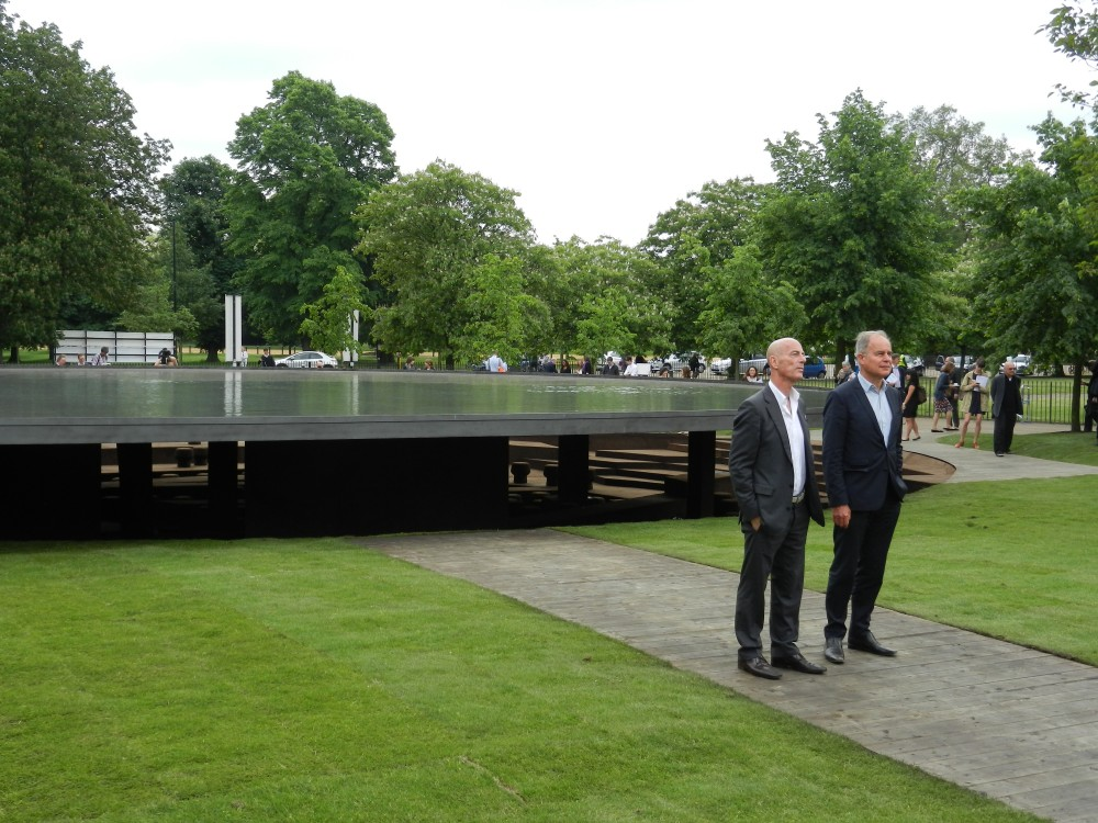 First images of Herzog & de Meuron and Ai Weiwei's Serpentine Gallery Pavilion 2012