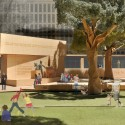 3_Eisenhower Memorial_The President The President: Courtesy of Gehry Partners, LLP, 2012