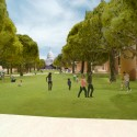 4_Eisenhower Memorial_Maryland Avenue Capitol Vista Maryland Avenue Capitol Vista: Courtesy of Gehry Partners, LLP, 2012