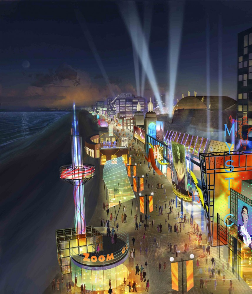 Atlantic City Tourism District Master Plan / The Jerde Partnership