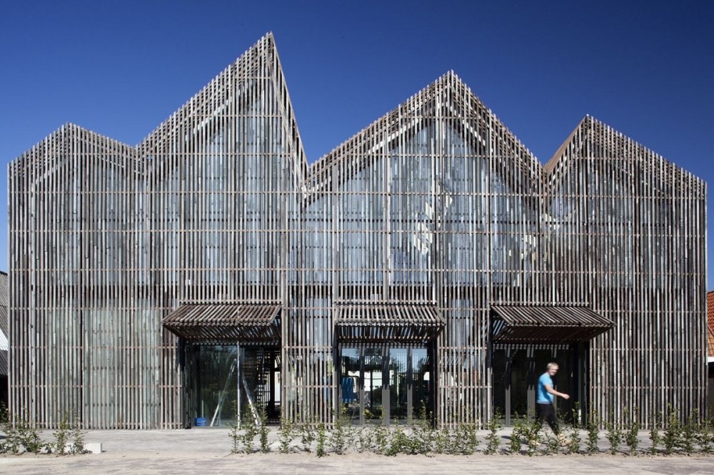 Kaap Skil, Maritime and Beachcombers' Museum Wins Daylight Award 2012 / Mecanoo Architecten