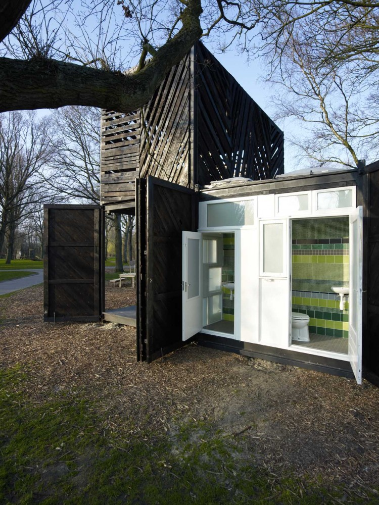 Noorderparkkamer / Bureau SLA &#038; Overtreders W