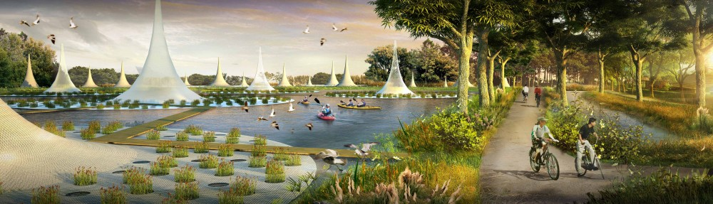 'Water City' Proposal / Shma