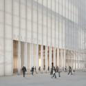 Musée des Beaux-Arts / David Chipperfield Architects (3) Entrada principal © David Chipperfield Architects