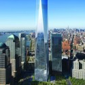 1 World Trade Center rendering © SOM / dbox studio