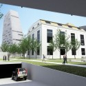 Badel Block Complex Proposal (4) garage entrance view