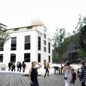Badel Block Complex Proposal (7) terrace view - west