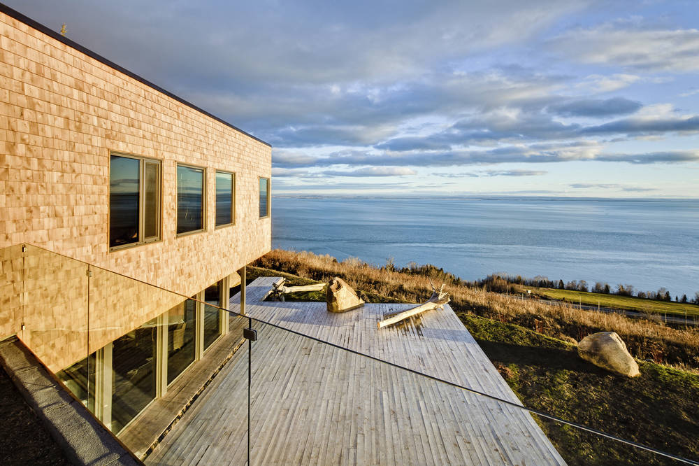 Malbaie VI Maree Basse / MU Architecture