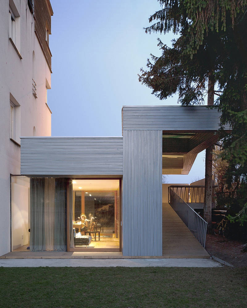 Villa T-Extension / OFIS