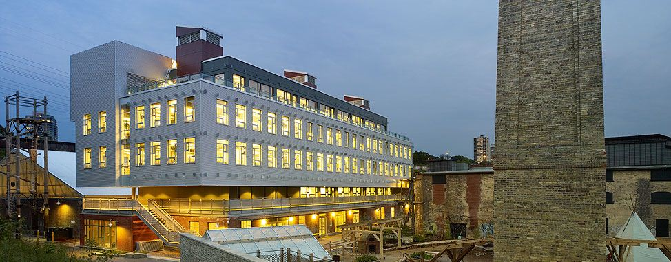 Evergreen Brick Works / Diamond Schmitt Architects