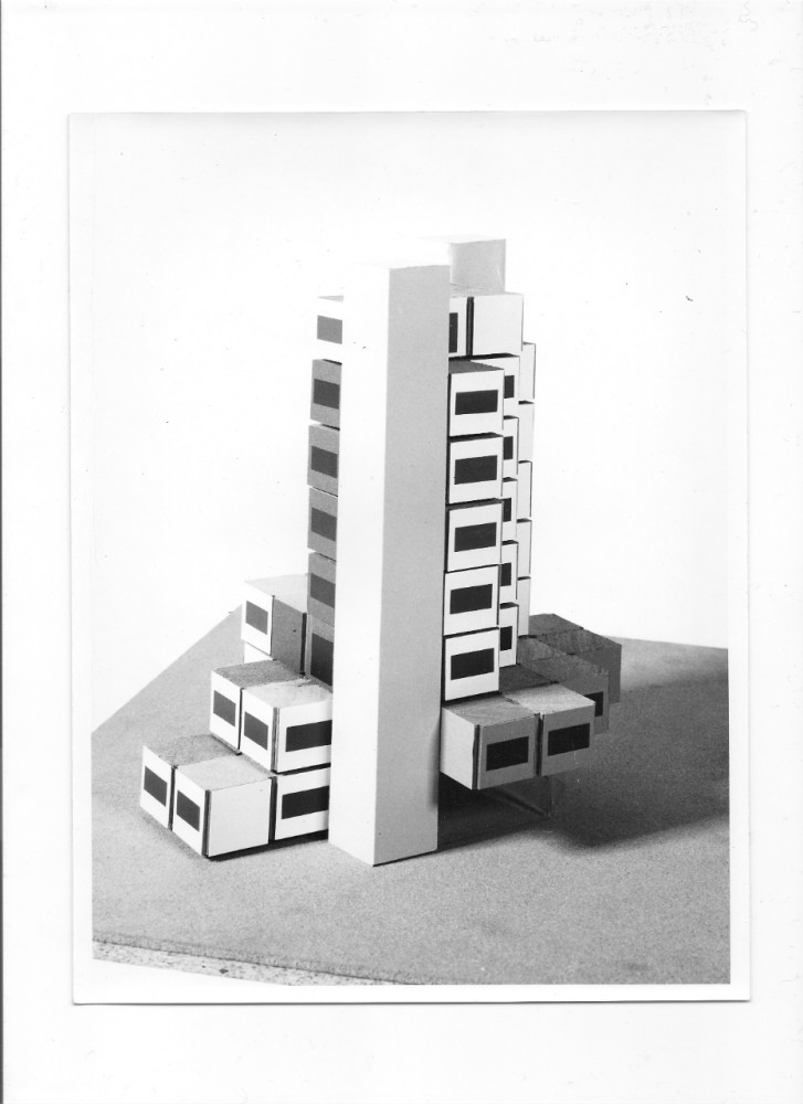 Claude Prouvé's recently demolished Experimental Building of SIRH