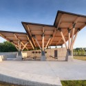 Arkansas State Veterans Cemetery at Birdeye / Fennell Purifoy Architects © Ken West