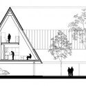 'Roof House' Proposal (12) section