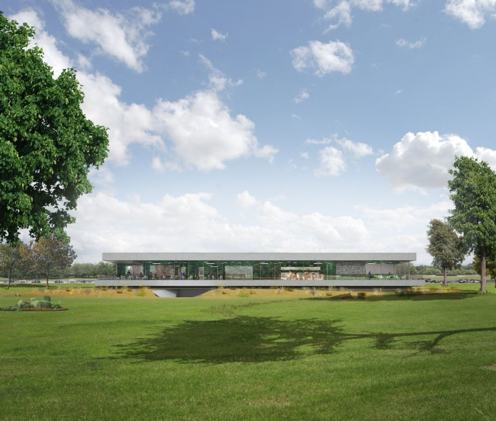 Amsterdam International Golf Club Schiphol / Mecanoo Architecten