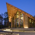 Semper Fidelis Memorial Chapel / Fentress Architects © Jason A. Knowles