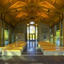 Semper Fidelis Memorial Chapel / Fentress Architects © Ken Paul