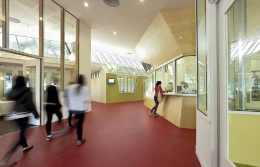 GippsTAFE Learning Centre / Paul Morgan Architects (7) © Peter Bennetts