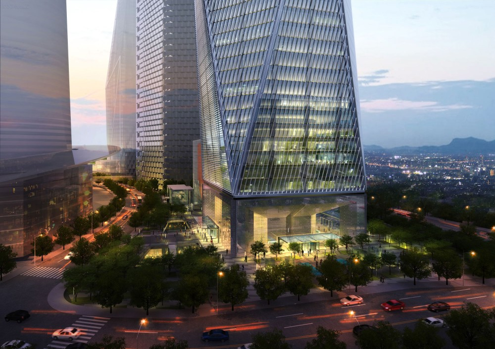 Diagonal Tower / SOM