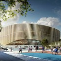 Copenhagen Arena Proposal (2) Courtesy of 3XN Architects
