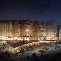 Copenhagen Arena Proposal (3) Courtesy of 3XN Architects
