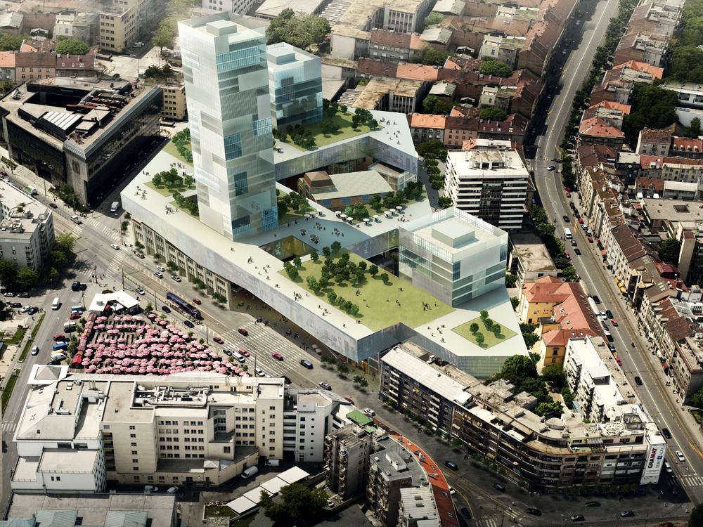 Badel Block Complex Proposal / WAU Design