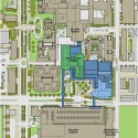 The Johns Hopkins Hospital / Perkins+Will Site Plan Courtesy of Perkins+Will