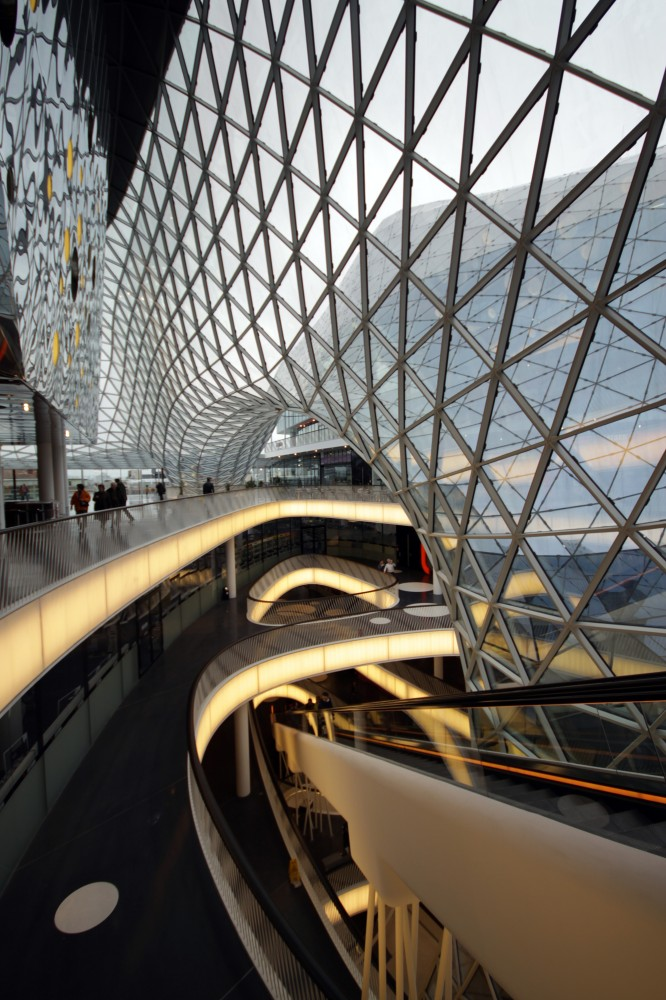 MyZeil Shopping Mall / Studio Fuksas