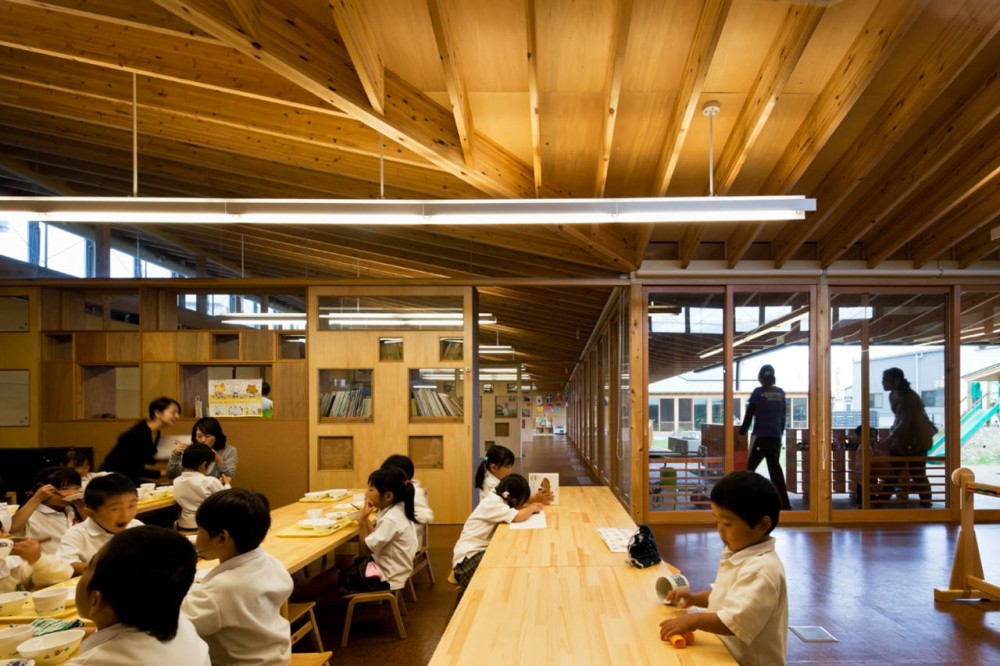 Einosato Nursery School / Shogo Iwata