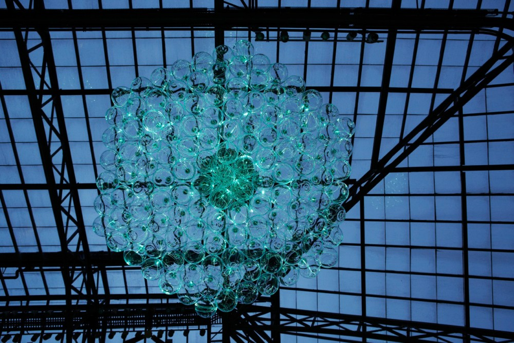 Bruce Munros stunning LED Installations light up Longwood Gardens