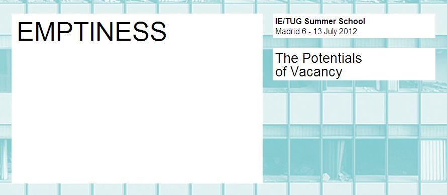'Emptiness: The Potentials of Vacancy' Summer School Session