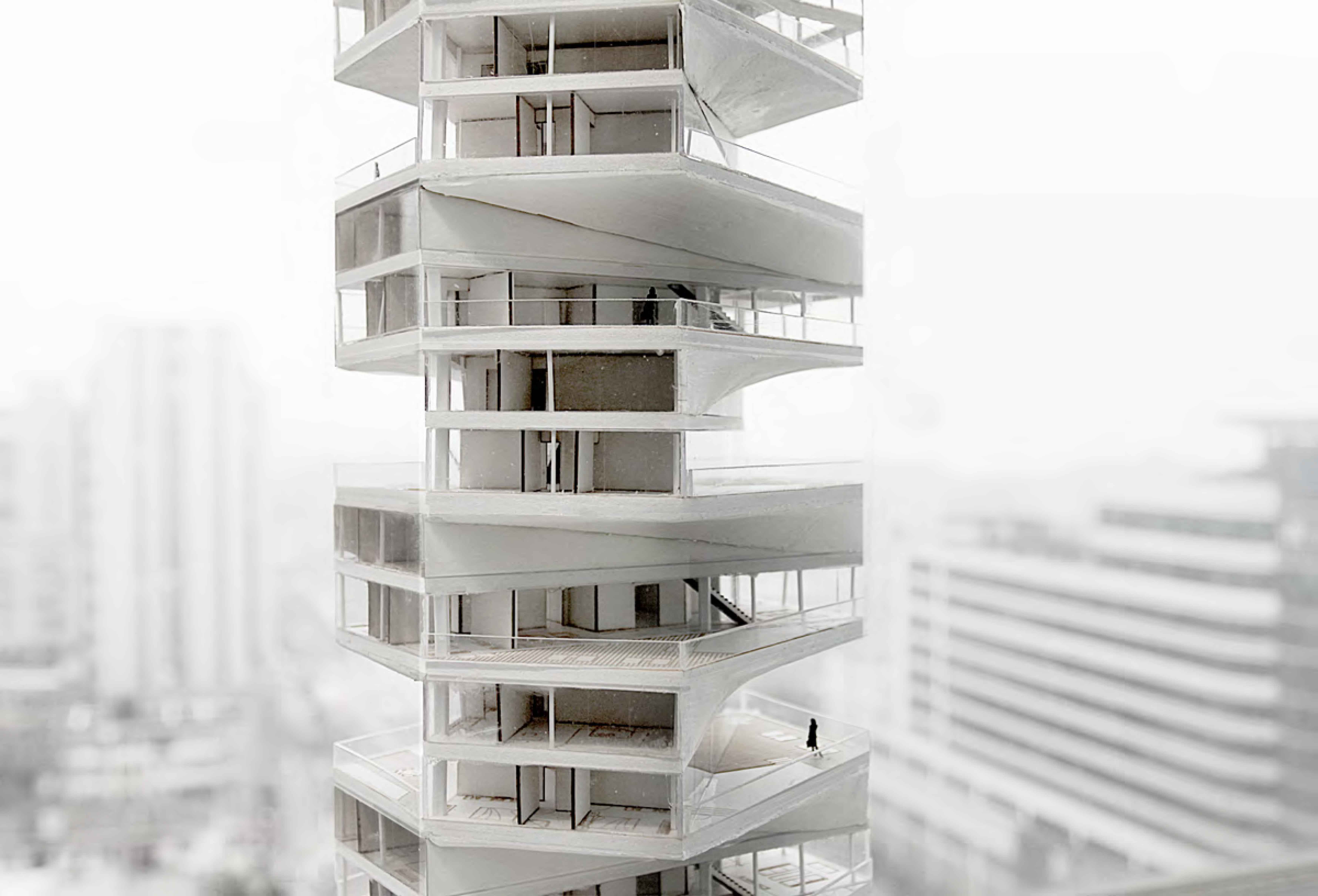 Architecture Photography: Writhing Tower (