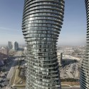 CTBUH Names Best Tall Buildings for 2012 (2) Absolute Towers - Courtesy of MAD architects