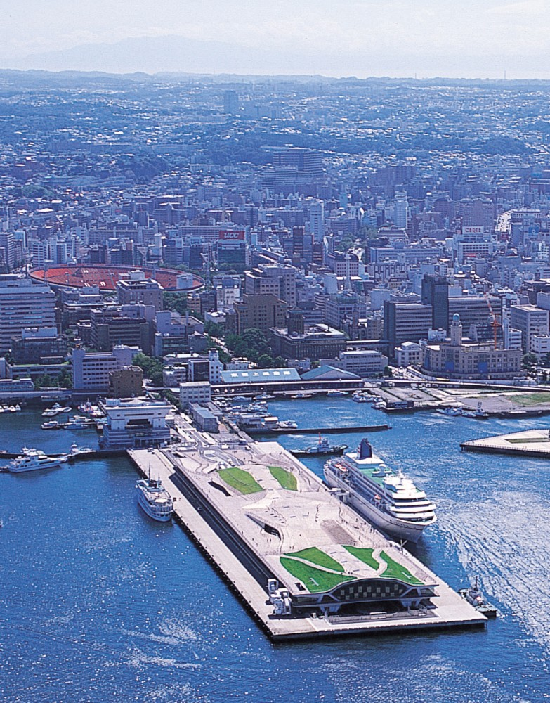 Think Space: 'Alejandro Zaera-Polo Never Planned to Win Yokohama Port Terminal' Competition
